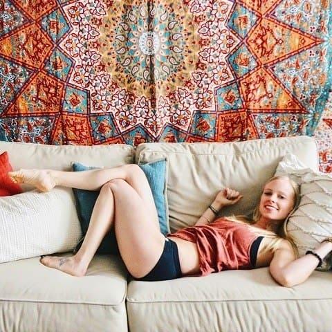 wama hemp underwear garments on couch