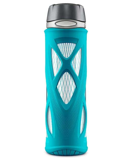 best glass water bottle zulu brand