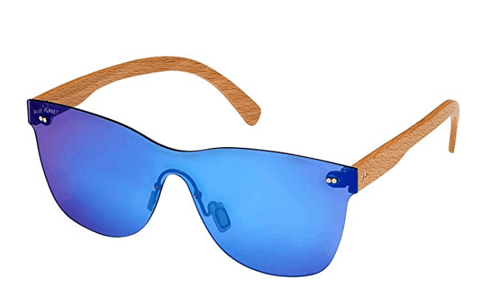 best wooden sunglasses are blue planet