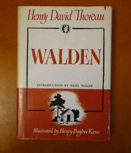 walden by david thoreau and whole earth