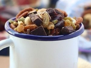 trail mix is a healthy alternative
