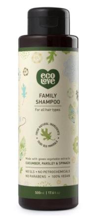 eco love vegan shampoo
