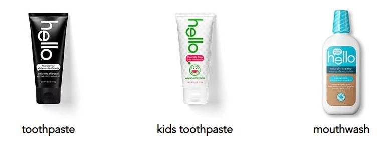 hello natural toothpaste