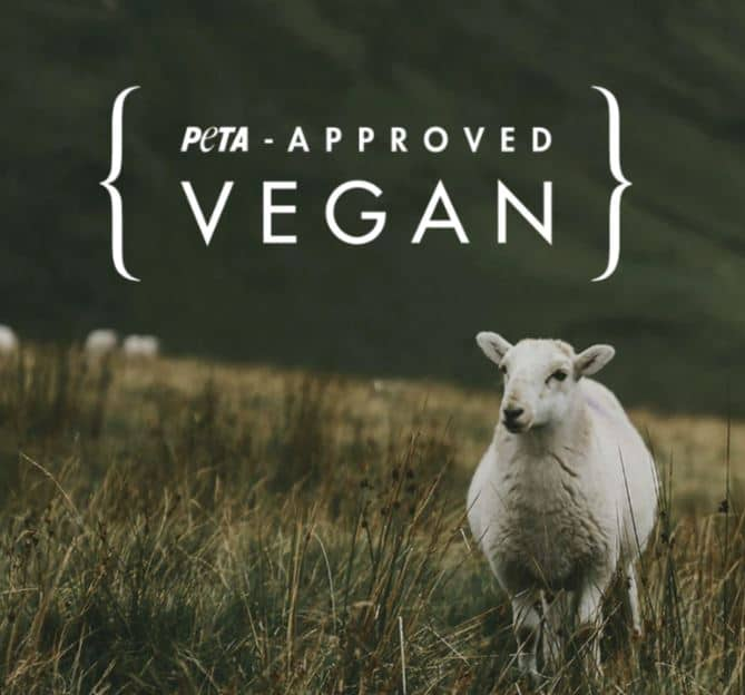 peta approved vegan products