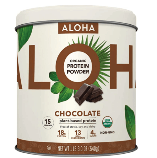 aloha vegan protein powder