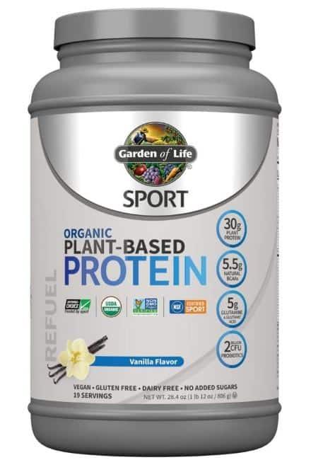garden of life sport protein