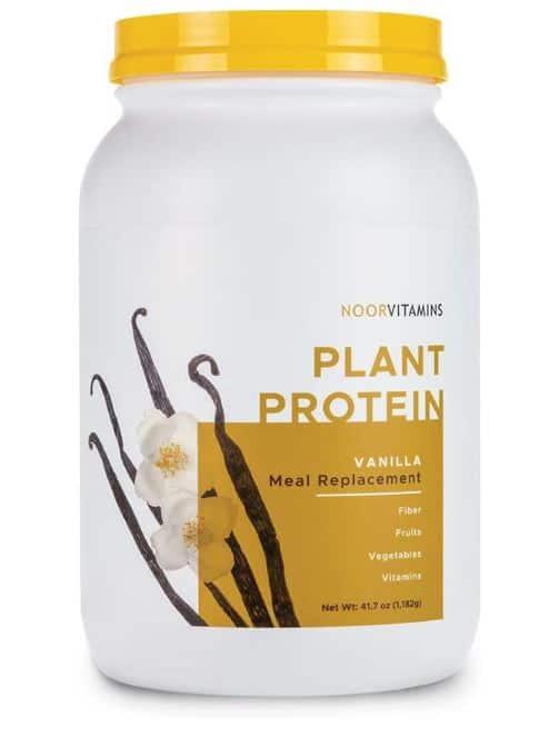 noorvitamins plant protein powder