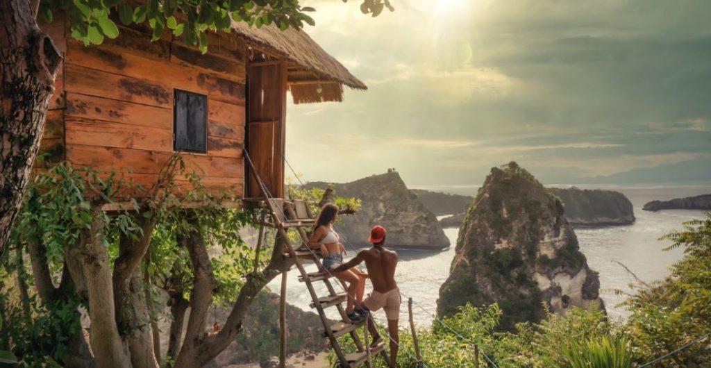 tiny shelter in bali