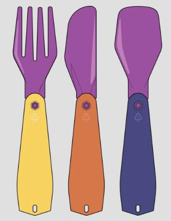the pebble cutlery