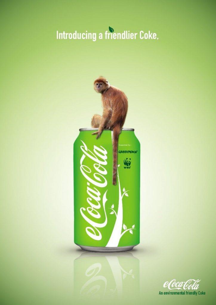 environmentally friendly coca-cola