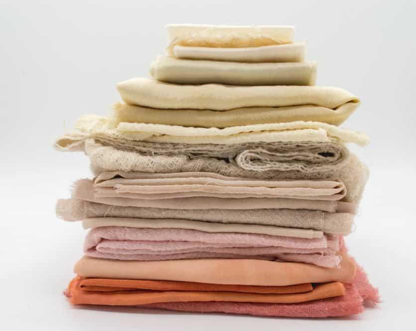 natural organic fabric material