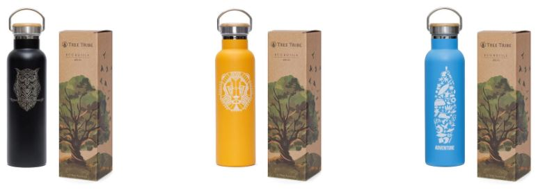eco bottles from treetribe