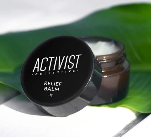 activist relief balm