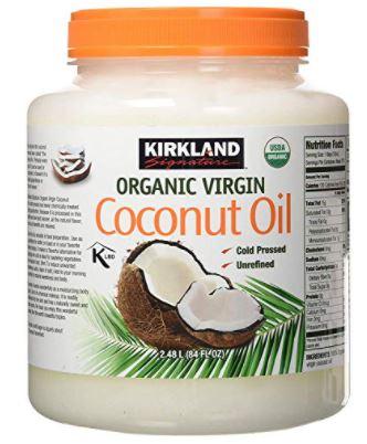 Kirkland Organic Virgin Coconut Oil