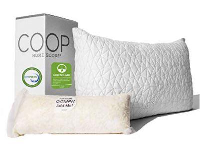Coop Home Goods Premium Adjustable Loft Pillow