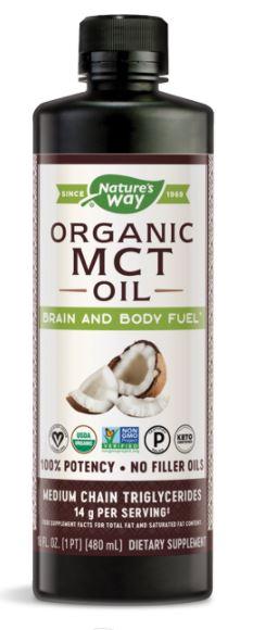 Nature's Way Organic Extra-Virgin Coconut Oil