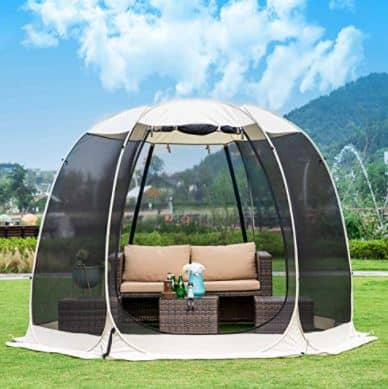 Leedor Gazebos Screen House Room Canopy Tent