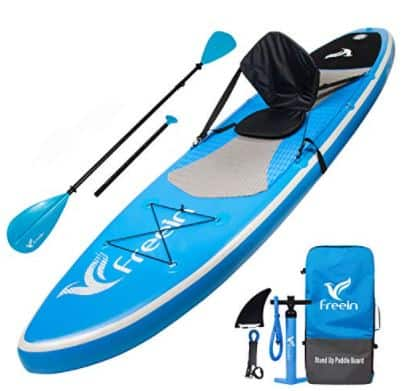 Freein Stand Up Paddle Board With Inflatable Kayak Conversion Kit