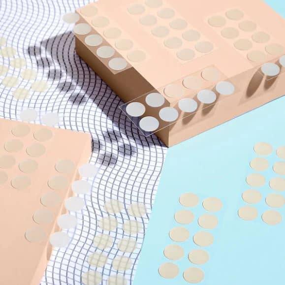 acne healing dots