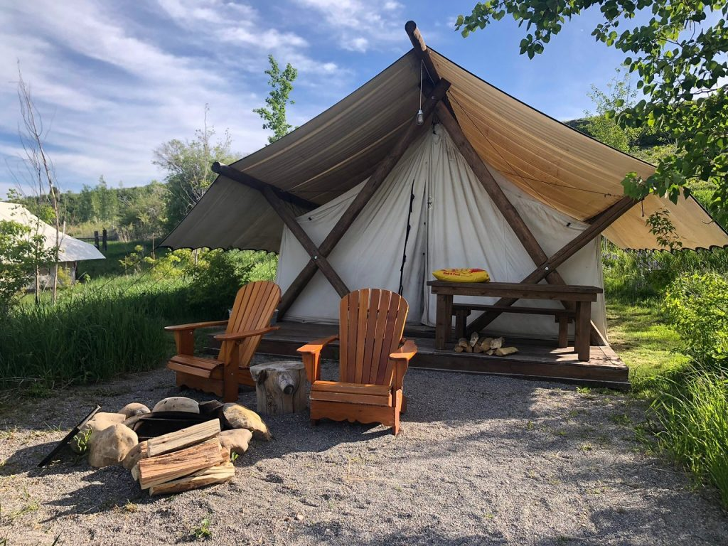 Conestoga Ranch Best Glamping Destiniations