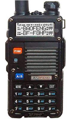BaoFeng BF-F8HP (UV-5R 3rd Gen) 8-Watt Dual Band