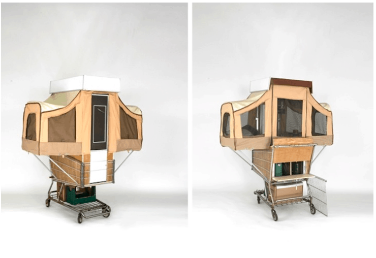 Mini Mobile Homes For Bikes By Kevin Cry