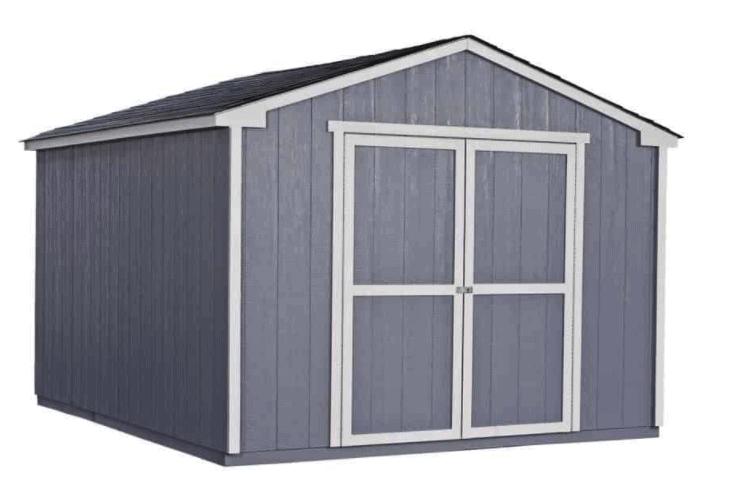 Value Gable 12 ft. x 16 ft. Wood Shed Precut Kit