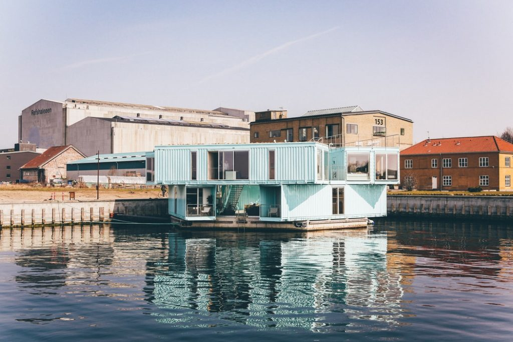 shipping container luxury