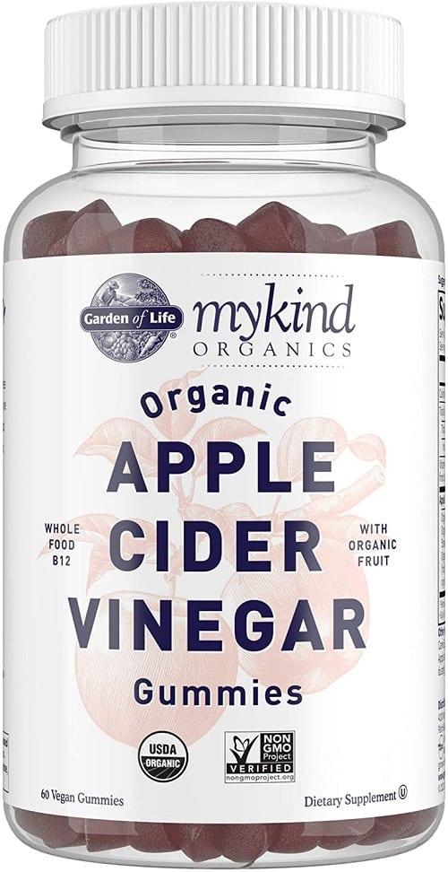Apple Cider Vinegar Gummies by Garden of Life mykind Organics