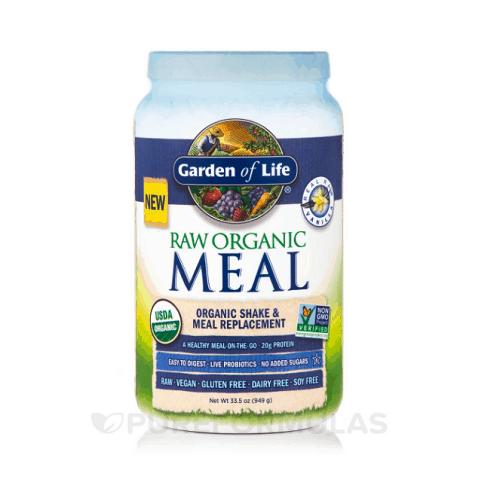 Garden of Life Raw Organic Meal Powder