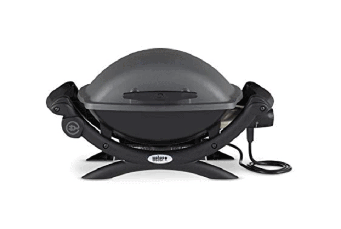 Weber Electric Grill, Gray