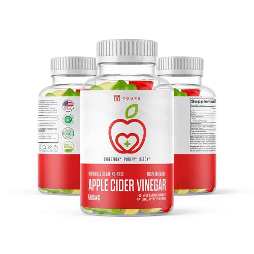 Yours Nutrition's Apple Cider Vinegar Gummies