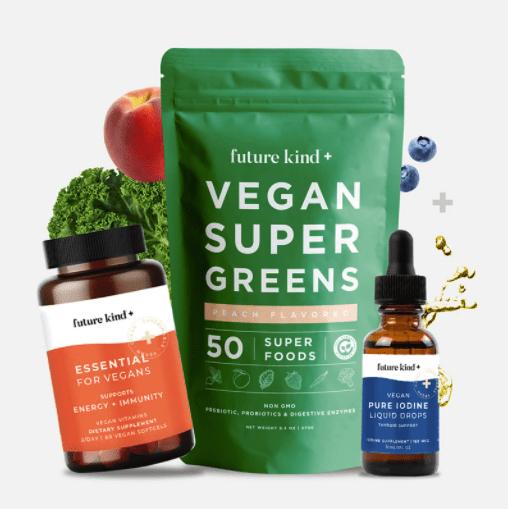 vegan super greens from future kind