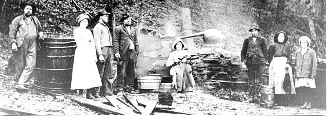how to make moonshine old timey style