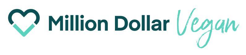 million dollar vegan logo