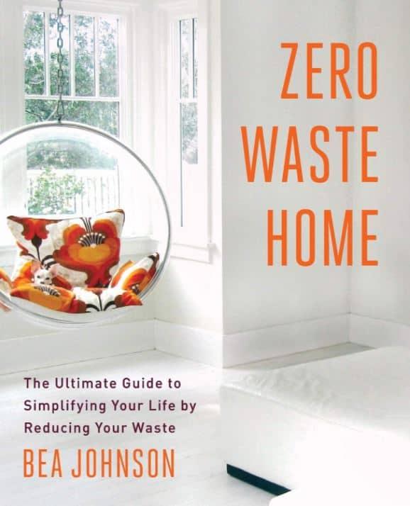 zero waste living book cover