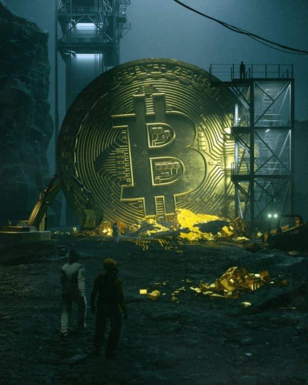 bitcoin art NFT