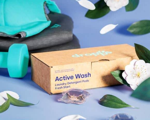 dropps active wash fresh start detergent pods