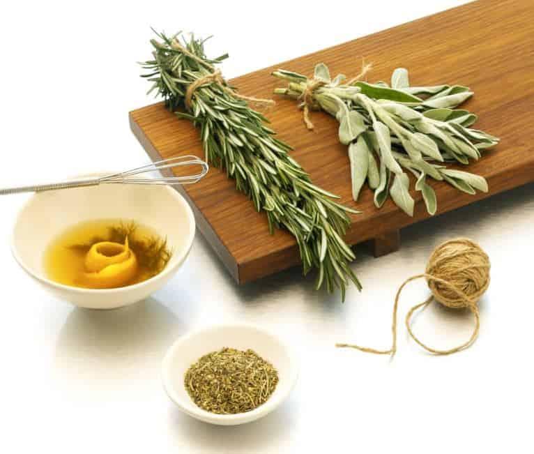 microwaving herbs
