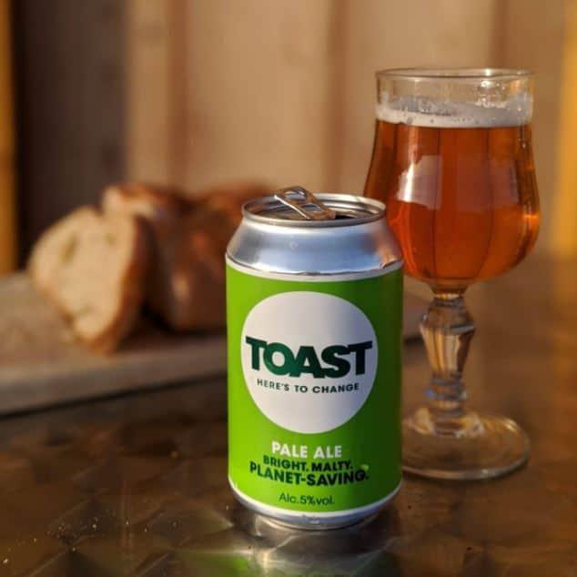 toast vegan beer