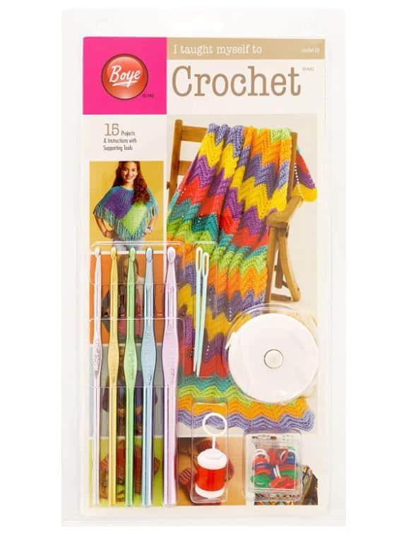 Boye Learn To Crochet Kit