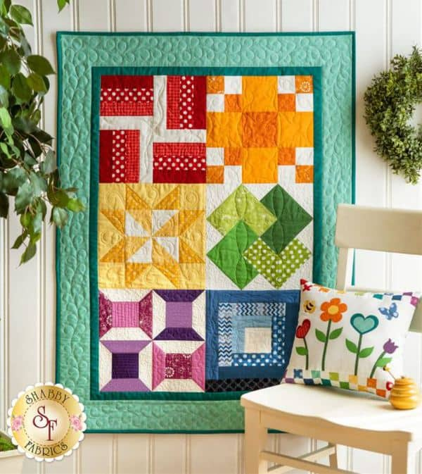 Shabby Fabrics Learn To Quilt Beginners Kit