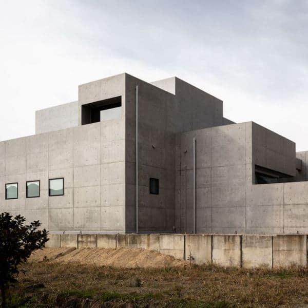 japanese concrete house