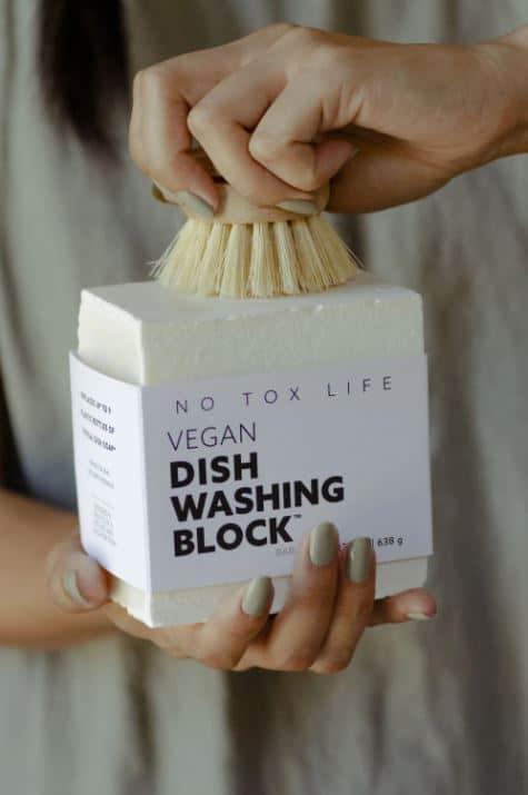 No Tox Life Dish Soap Block