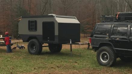 Off-Road Overlanding Camper