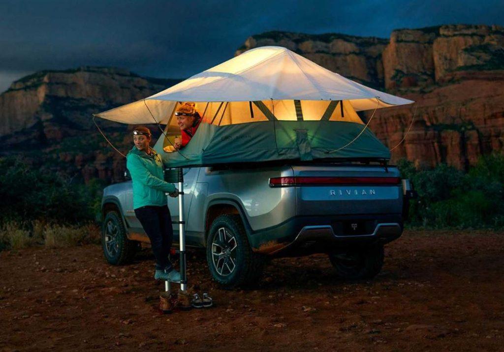 Rivian Electric Adventure Camper