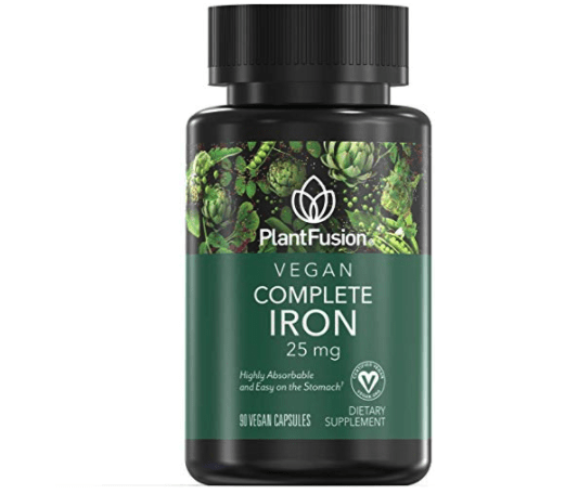plant fusion vegan iron supplements