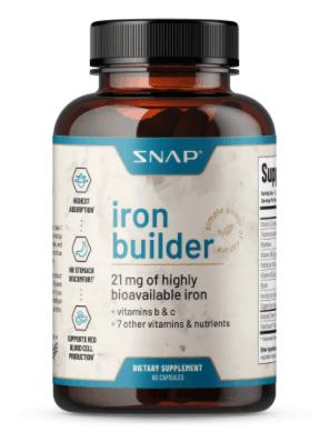 snap vegan iron supplement